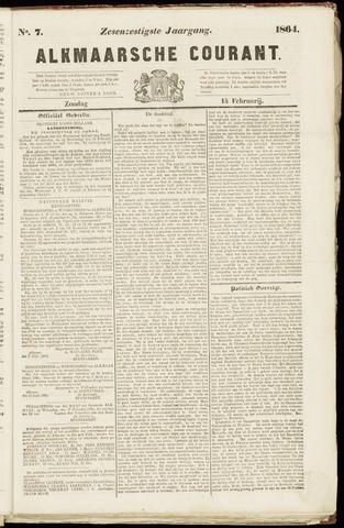 Alkmaarsche Courant 1864-02-14