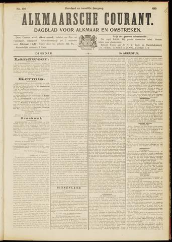 Alkmaarsche Courant 1910-08-16