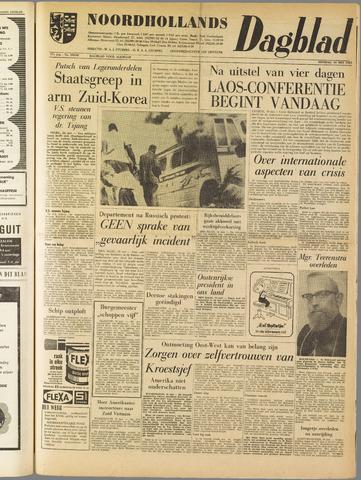 Noordhollands Dagblad : dagblad voor Alkmaar en omgeving 1961-05-16