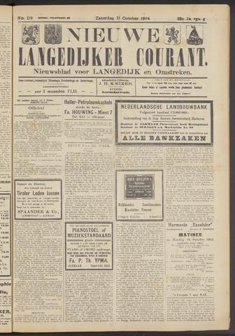 Nieuwe Langedijker Courant 1924-10-11