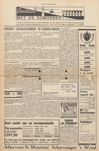 Contact met de Egmonden 1965-11-04