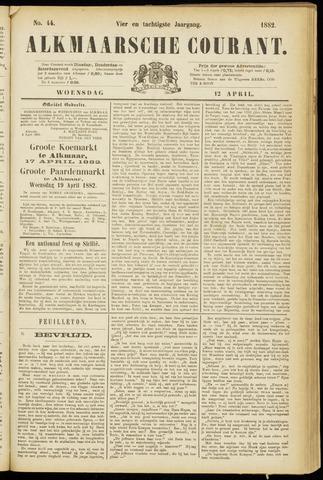 Alkmaarsche Courant 1882-04-12
