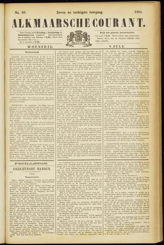 Alkmaarsche Courant 1885-07-08
