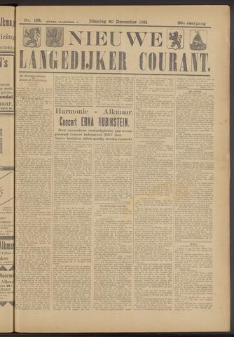 Nieuwe Langedijker Courant 1921-12-20