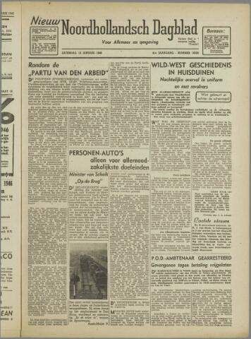Nieuw Noordhollandsch Dagblad : voor Alkmaar en omgeving 1946-01-12