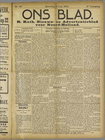Ons Blad : katholiek nieuwsblad voor N-H 1908-06-06