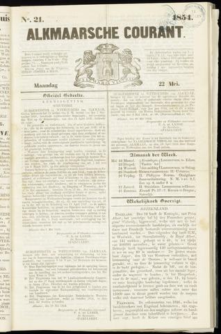 Alkmaarsche Courant 1854-05-22