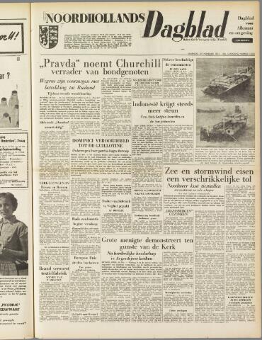 Noordhollands Dagblad : dagblad voor Alkmaar en omgeving 1954-11-29