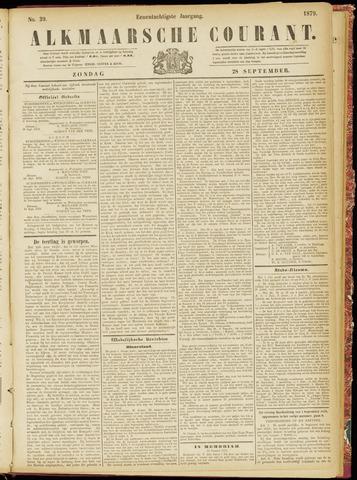 Alkmaarsche Courant 1879-09-28