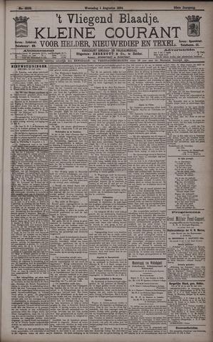 Vliegend blaadje : nieuws- en advertentiebode voor Den Helder 1894-08-01