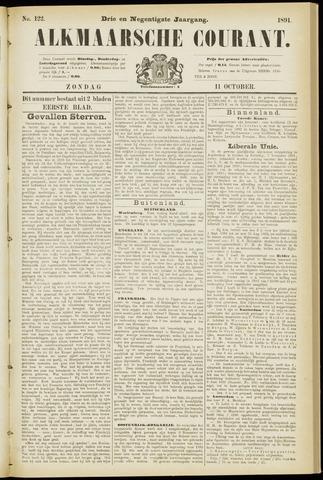 Alkmaarsche Courant 1891-10-11