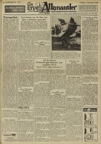 De Vrije Alkmaarder 1949-12-06