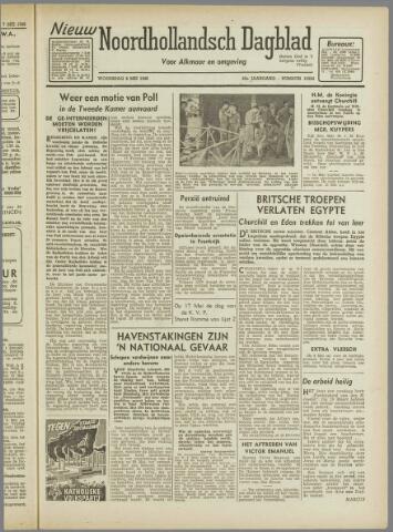 Nieuw Noordhollandsch Dagblad : voor Alkmaar en omgeving 1946-05-08