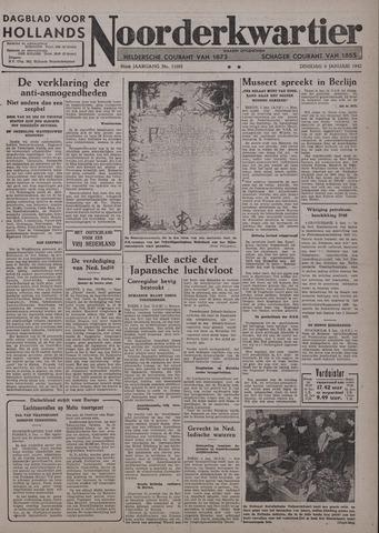 Dagblad voor Hollands Noorderkwartier 1942-01-06