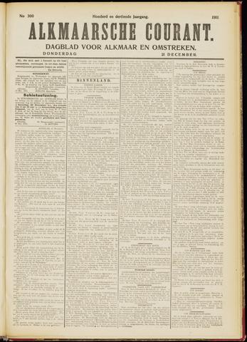 Alkmaarsche Courant 1911-12-21