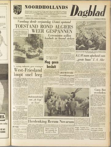 Noordhollands Dagblad : dagblad voor Alkmaar en omgeving 1961-05-13