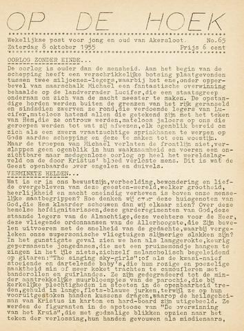 Op De Hoek, weekblad voor Akersloot 1955-10-08