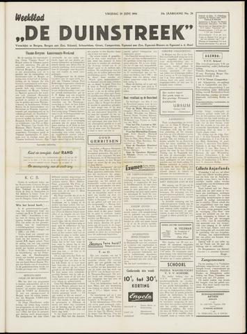 De Duinstreek 1956-06-29