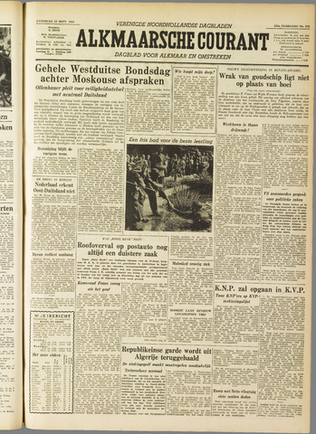 Alkmaarsche Courant 1955-09-24
