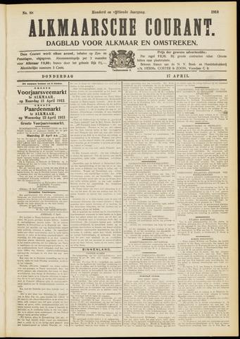Alkmaarsche Courant 1913-04-17