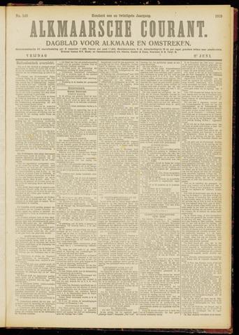 Alkmaarsche Courant 1919-06-27