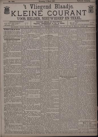 Vliegend blaadje : nieuws- en advertentiebode voor Den Helder 1887-03-02