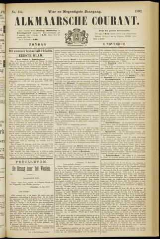 Alkmaarsche Courant 1892-11-06