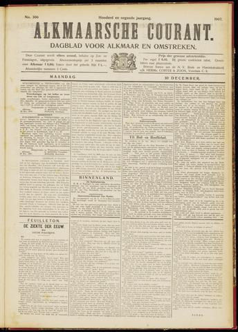 Alkmaarsche Courant 1907-12-30
