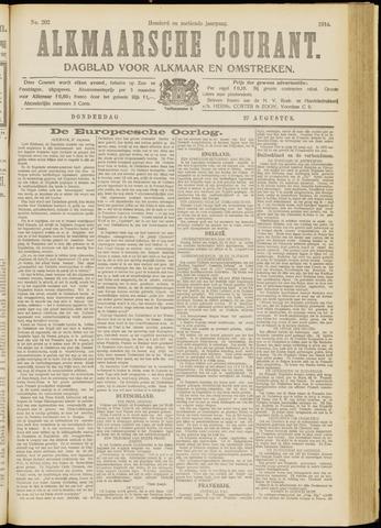 Alkmaarsche Courant 1914-08-27