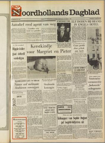 Noordhollands Dagblad : dagblad voor Alkmaar en omgeving 1969-12-27