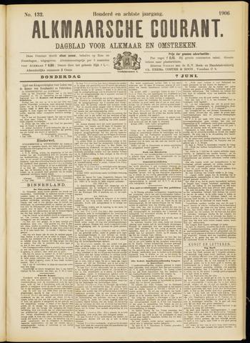 Alkmaarsche Courant 1906-06-07