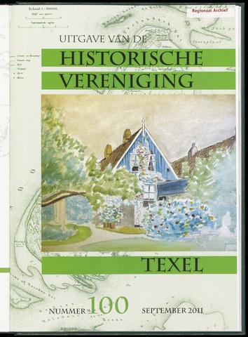 Uitgave Historische Vereniging Texel 2011-09-01