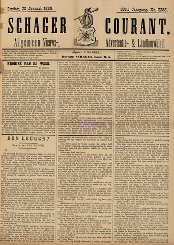 Schager Courant 1889-01-20