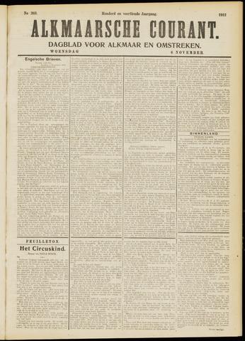 Alkmaarsche Courant 1912-11-06