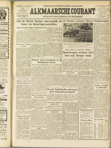Alkmaarsche Courant 1955-08-11