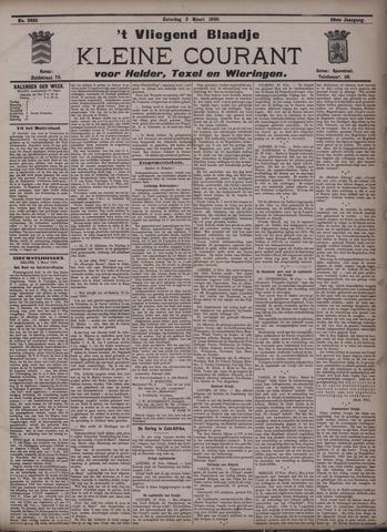 Vliegend blaadje : nieuws- en advertentiebode voor Den Helder 1900-03-03