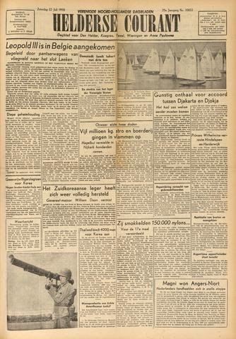 Heldersche Courant 1950-07-22