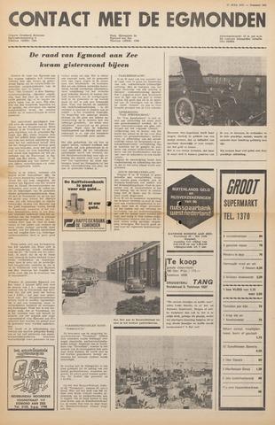 Contact met de Egmonden 1971-07-21