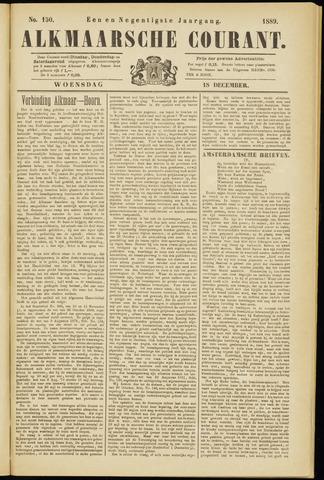 Alkmaarsche Courant 1889-12-18