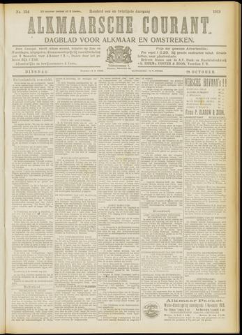Alkmaarsche Courant 1919-10-28