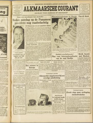 Alkmaarsche Courant 1955-01-04