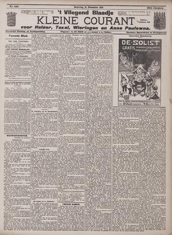 Vliegend blaadje : nieuws- en advertentiebode voor Den Helder 1912-12-21