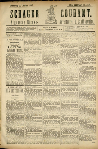 Schager Courant 1895-10-10
