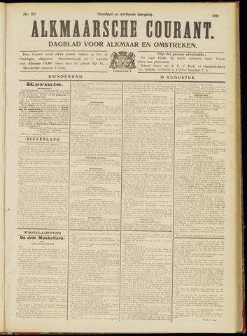 Alkmaarsche Courant 1911-08-10