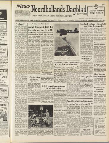 Nieuw Noordhollandsch Dagblad : voor Alkmaar en omgeving 1950-08-31