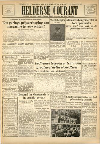 Heldersche Courant 1954-07-02