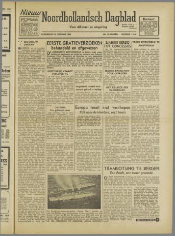 Nieuw Noordhollandsch Dagblad : voor Alkmaar en omgeving 1946-10-10
