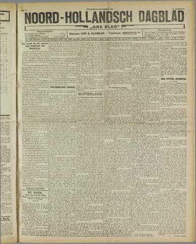 Ons Blad : katholiek nieuwsblad voor N-H 1921-11-09