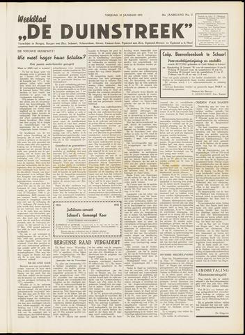 De Duinstreek 1951-01-12