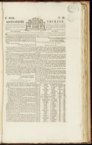 Alkmaarsche Courant 1844-05-13